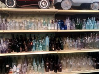 Antique Bottles- Large Collection