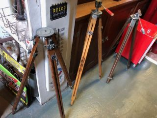 Wooden Tripods Great Condition