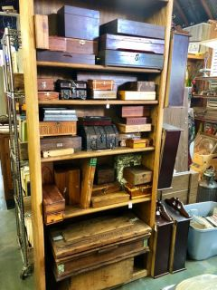 Wooden Boxes- Cabinet Full