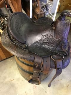 Antique Child's Saddle