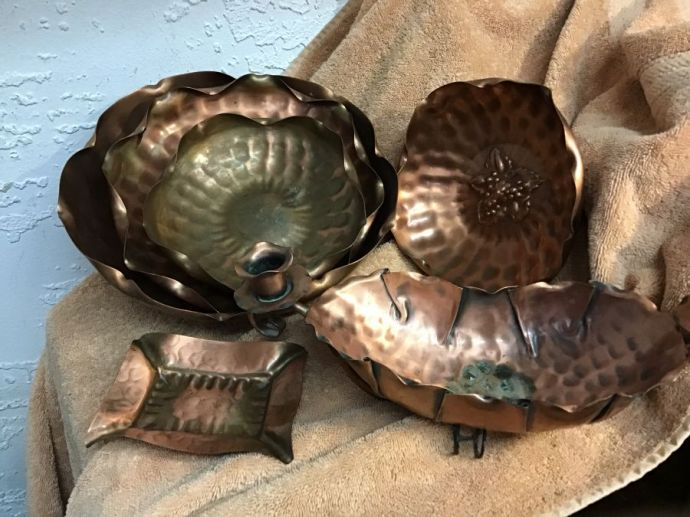Aluminum & Copper Dishes & More