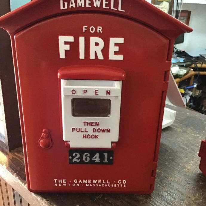 Antique Fire Alarm Box- Gamewell