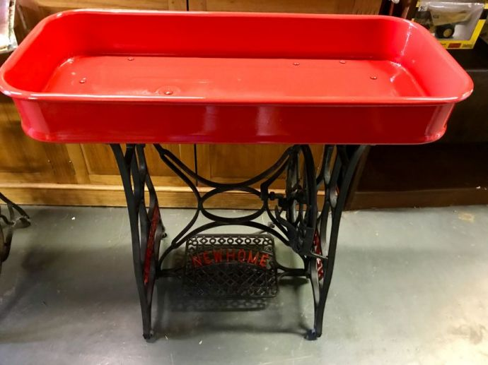 Little Red Wagon Table
