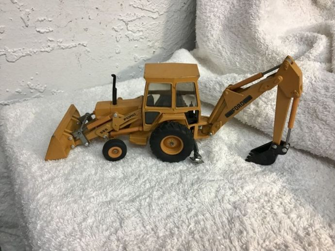 Toy Ford Tractor & Ford Backhoe