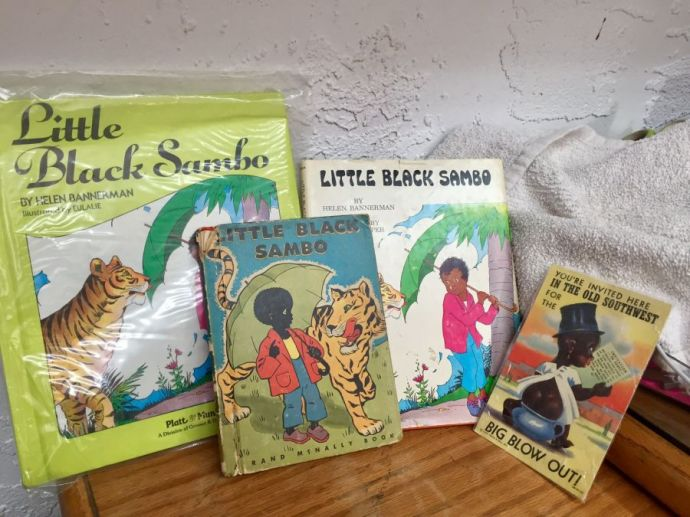 Collectable Little Black Sambo Books