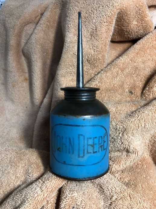 Vintage John Deere Oil Can