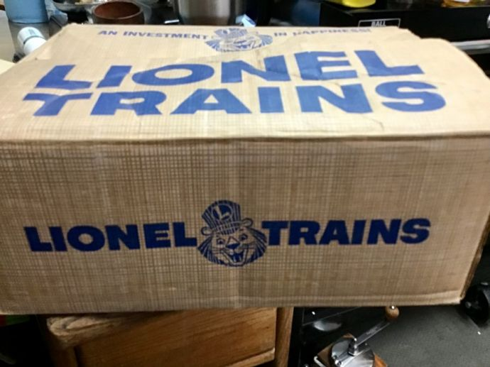 Toy Train Parts- Lionel Box