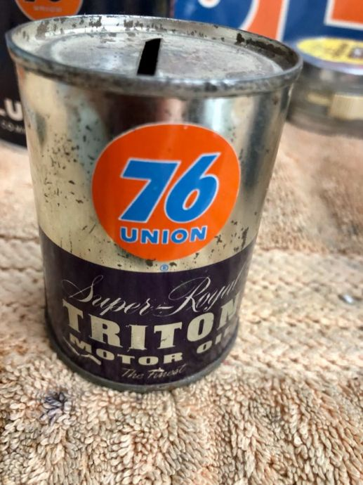 Triton Oil Can Bank