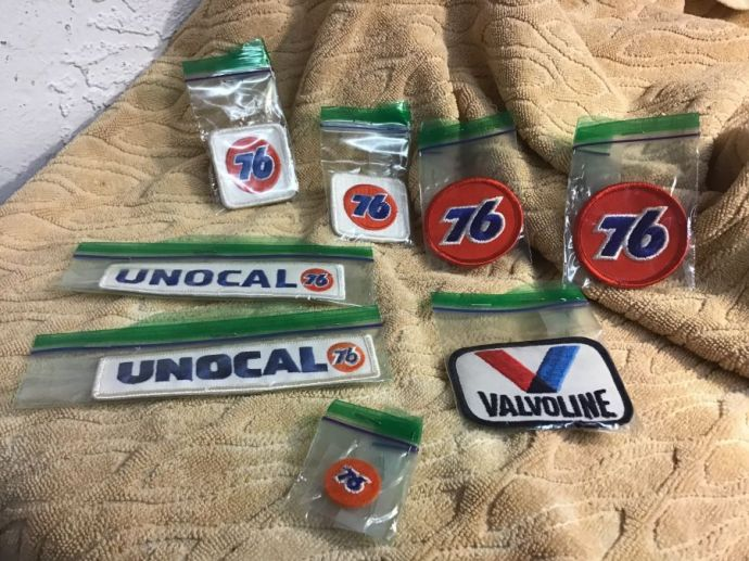 Old Service Station Patches